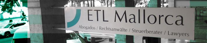 ETL - Rechtsanwalt auf Mallorca - Despacho de abogados