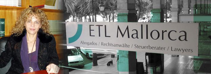 ETL - Rechtsanwalt auf Mallorca - Kanzlei - Catalina Rigo