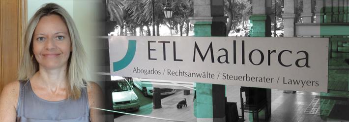 ETL - Rechtsanwalt auf Mallorca - Kanzlei - Elena Germán