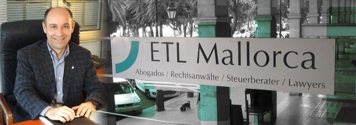 ETL - Rechtsanwalt auf Mallorca - Kanzlei - Miguel Céspedes