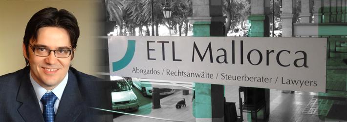 ETL - Rechtsanwalt auf Mallorca - Kanzlei - Pedro Font